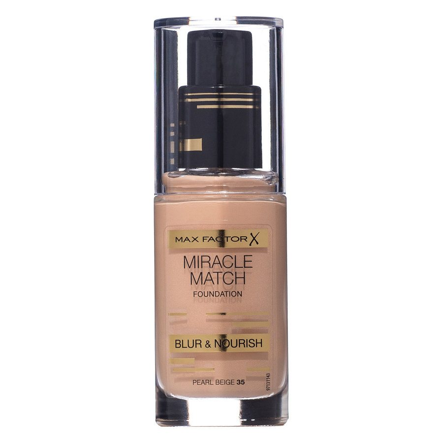 Max Factor Miracle Match Foundation – Pearl Beige 035