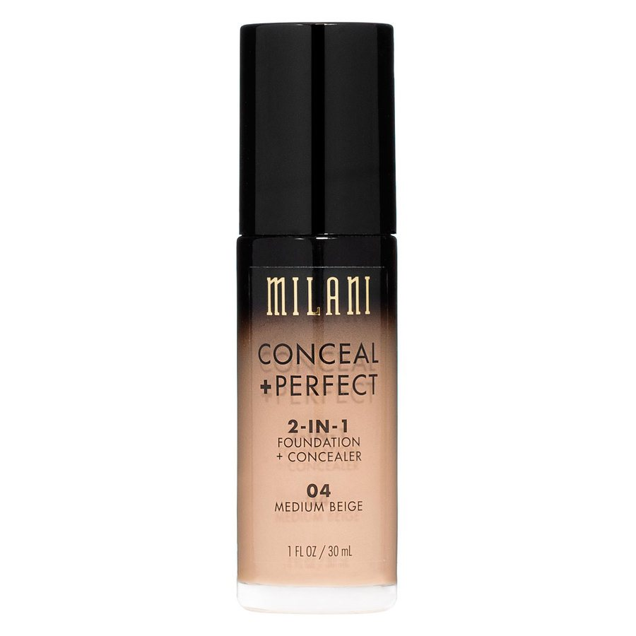 Milani Conceal + Perfect 2-In-1 Foundation + Concealer 30ml – Medium Beige