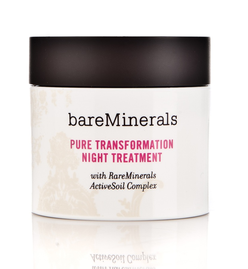 BareMinerals Pure Transformation Night Treatment 4,2 g Clear -yöhoito