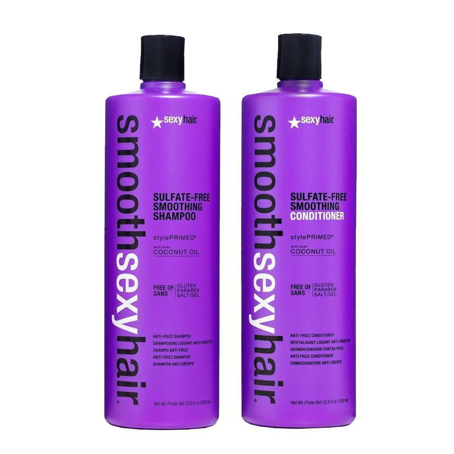 Smooth Sexy Hair Smoothing Shampoo and Conditioner 2 x 1 000 ml
