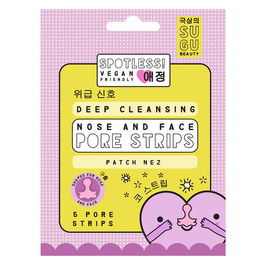 SUGU Spotless Deep Cleansing Pore Strips
