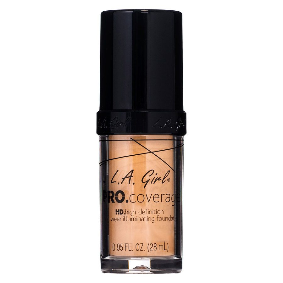 L.A. Girl Pro Coverage Illuminating Foundation – GLM645 Nude Beige