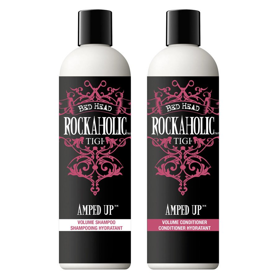 TIGI Bed Head Rockaholic Amped Up Volume Shampoo & Conditioner 2 x 355ml