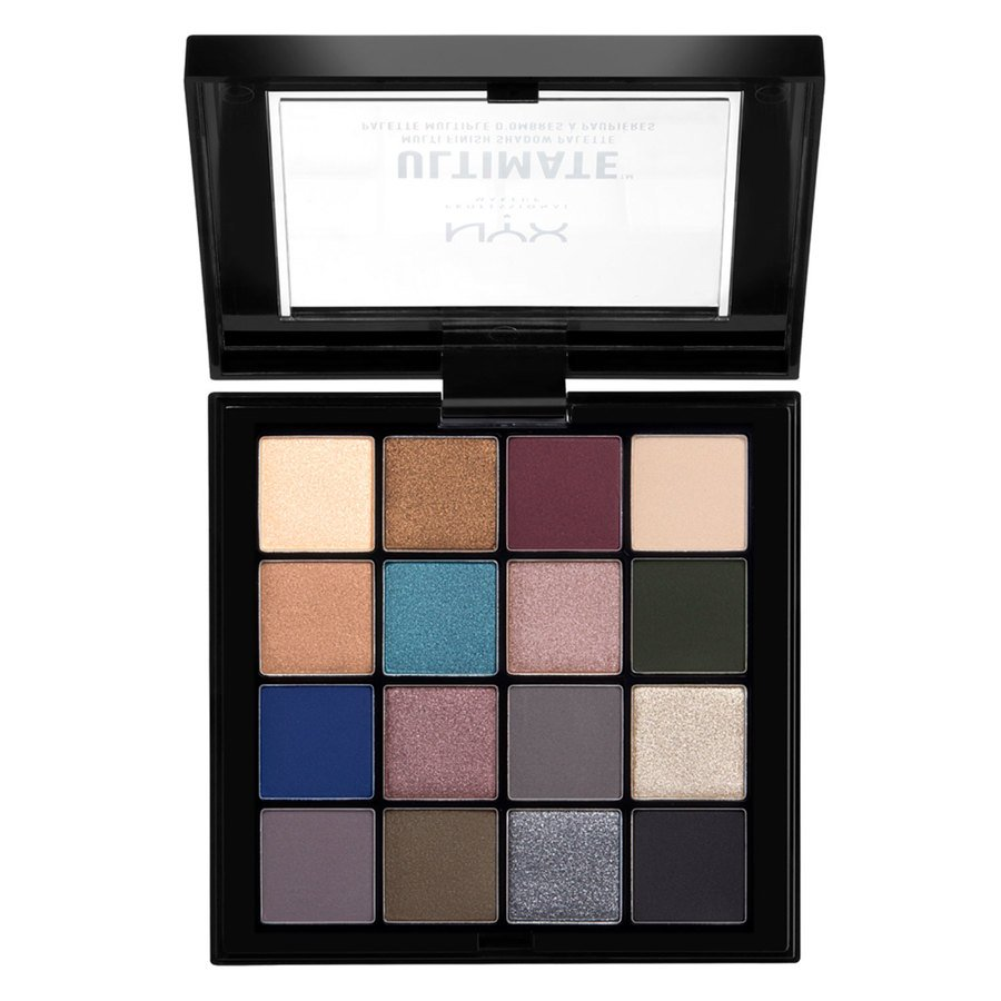 NYX Professional Makeup Ultimate Multi-Finish Shadow Palette 10 Ash 13,3g