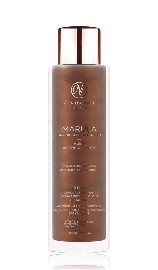 Vita Liberata Marula Dry Oil Self Tan SPF 50 100 ml