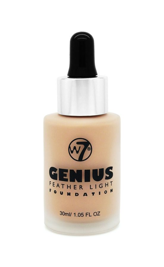 W7 Genius Feather Light Foundation – Sand Beige