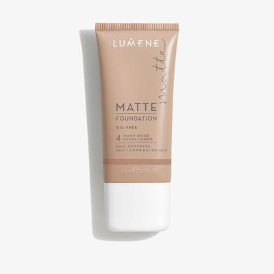 Lumene Matte Foundation 30 ml - 4 Warm Beige