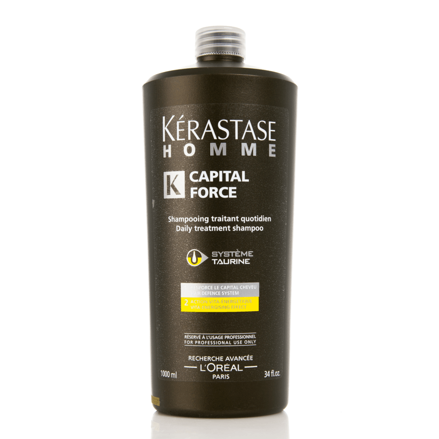 Kérastase Homme Capital Force Daily Treatment Energetique Shampoo 1 000ml