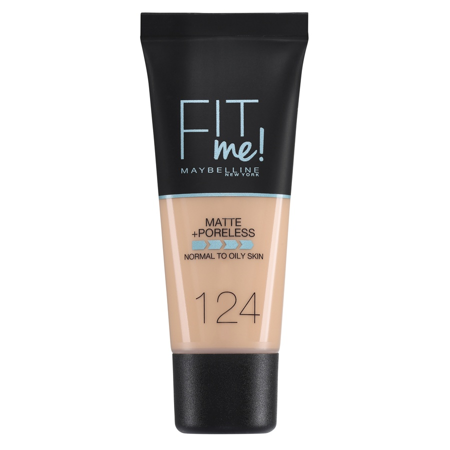 Maybelline Fit Me Makeup Matte + Poreless Foundation 30 ml - 124