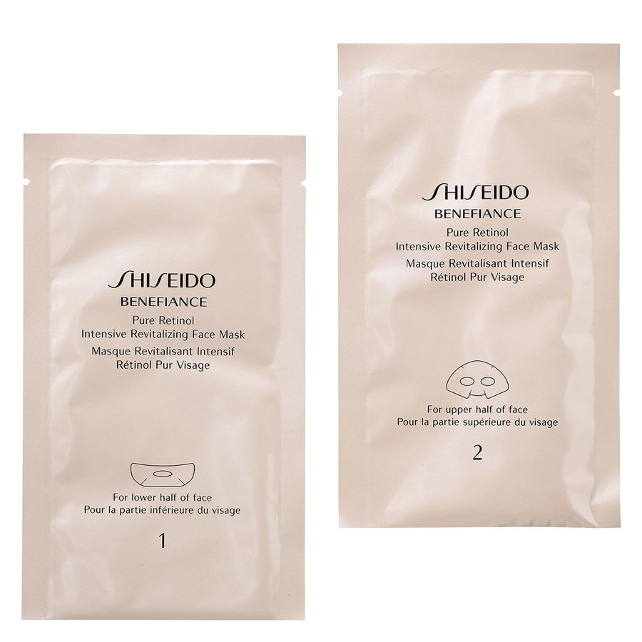 Shiseido Benefiance Pure Retinol Instant Revitalizing Face Mask 4 kpl