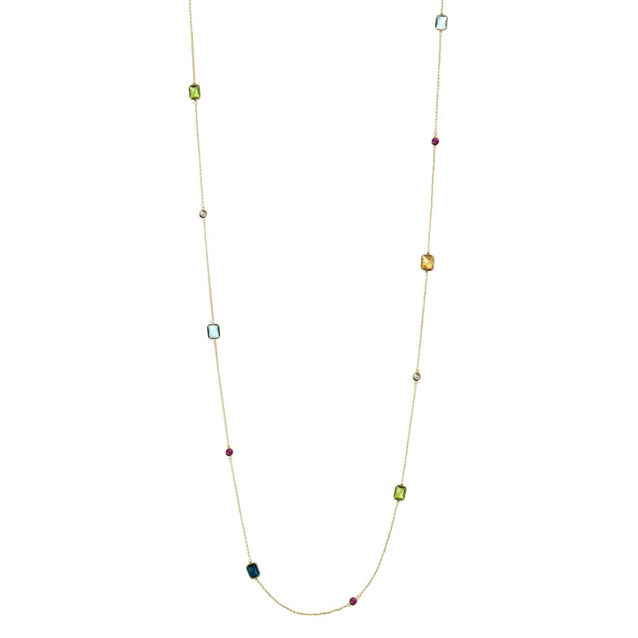 Snö Of Sweden Twice Chain Necklace – Gold/Mix
