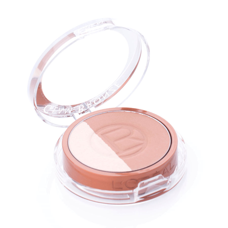 L'Oréal Paris Glam Bronze Powder Duo 9 g – 102 Brunette Harmony