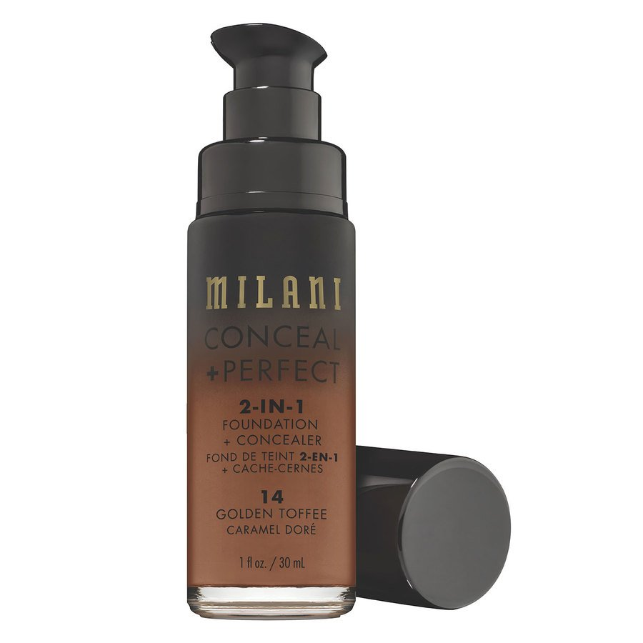 Milani Conceal + Perfect 2-In-1 Foundation + Concealer 30 ml – Golden Toffee