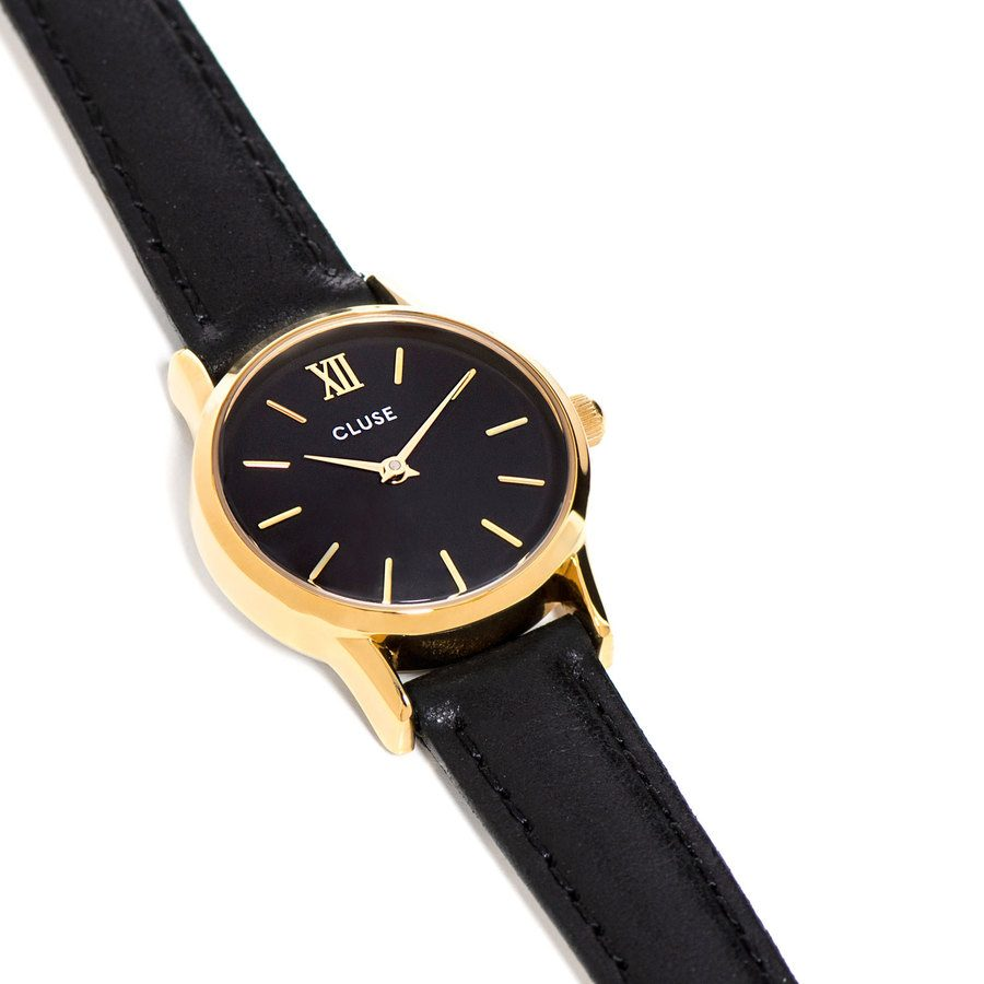 size 40 27bc9 d6513 La Vedette Gold   Black 24 mm – CL50012