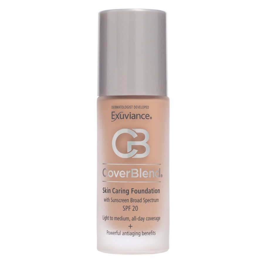 Exuviance CoverBlend Skin Caring Foundation SPF 20 – True Beige 30ml