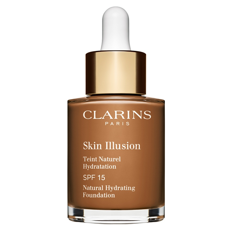 Clarins Skin Illusion Foundation 30 ml – 118,5 Chocolate