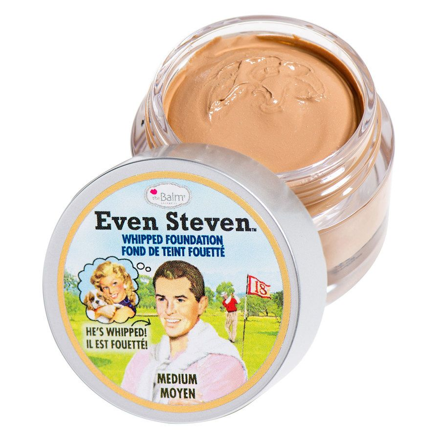 The Balm Even Steven Whipped Foundation 13,4 ml – Medium