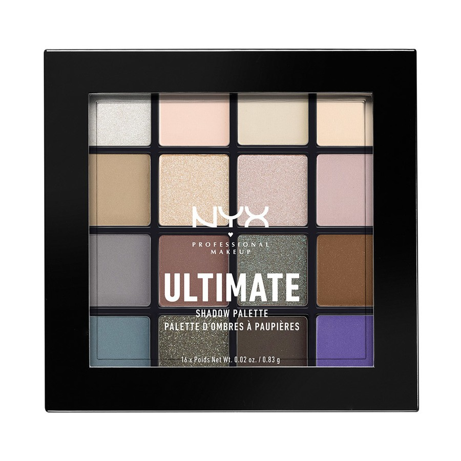 NYX Professional Makeup Ultimate Eyeshadow Palette – Cool Neutrals USP02 13,3g