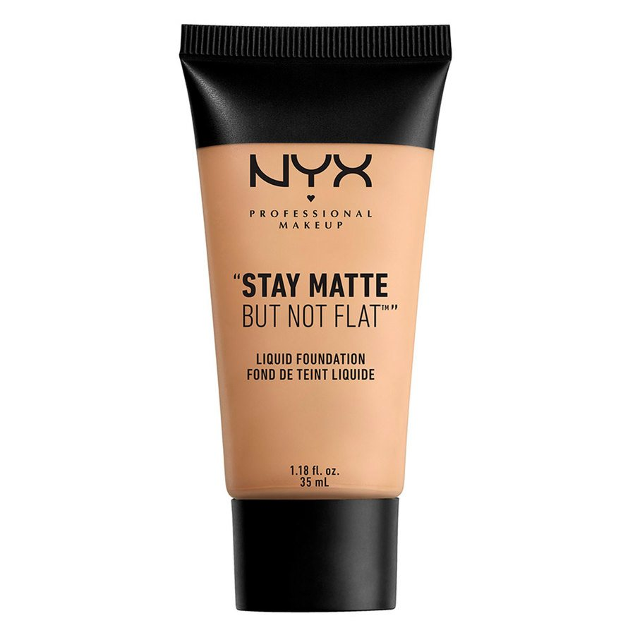 NYX Professional Makeup Stay Matte But Not Flat Liquid Foundation 35 ml – Nude