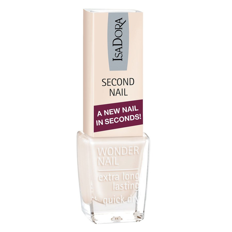 IsaDora 606 Second Nail 6 ml ─ Nude