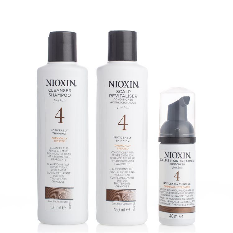 Nioxin Hair System Kit System 4 3pcs. set