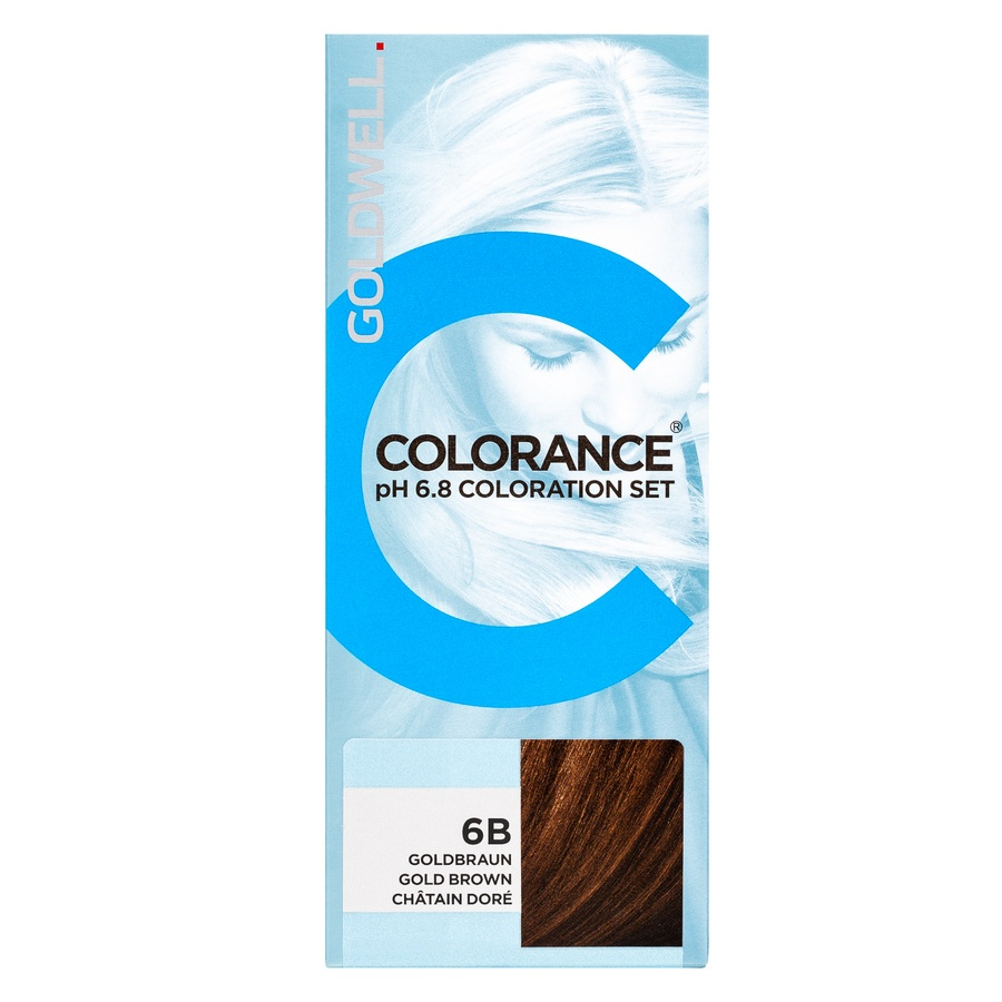 Goldwell Colorance pH 6.8 Coloration Set 90 ml - 6B Gold Brown
