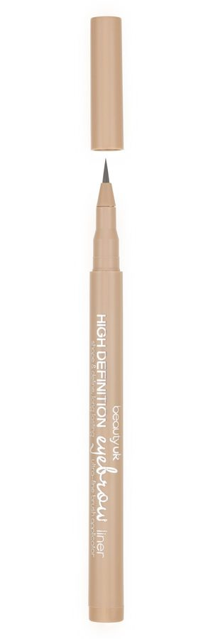 Beauty UK High Definition Eyebrow Liner – No.1 Ash Brown 1ml