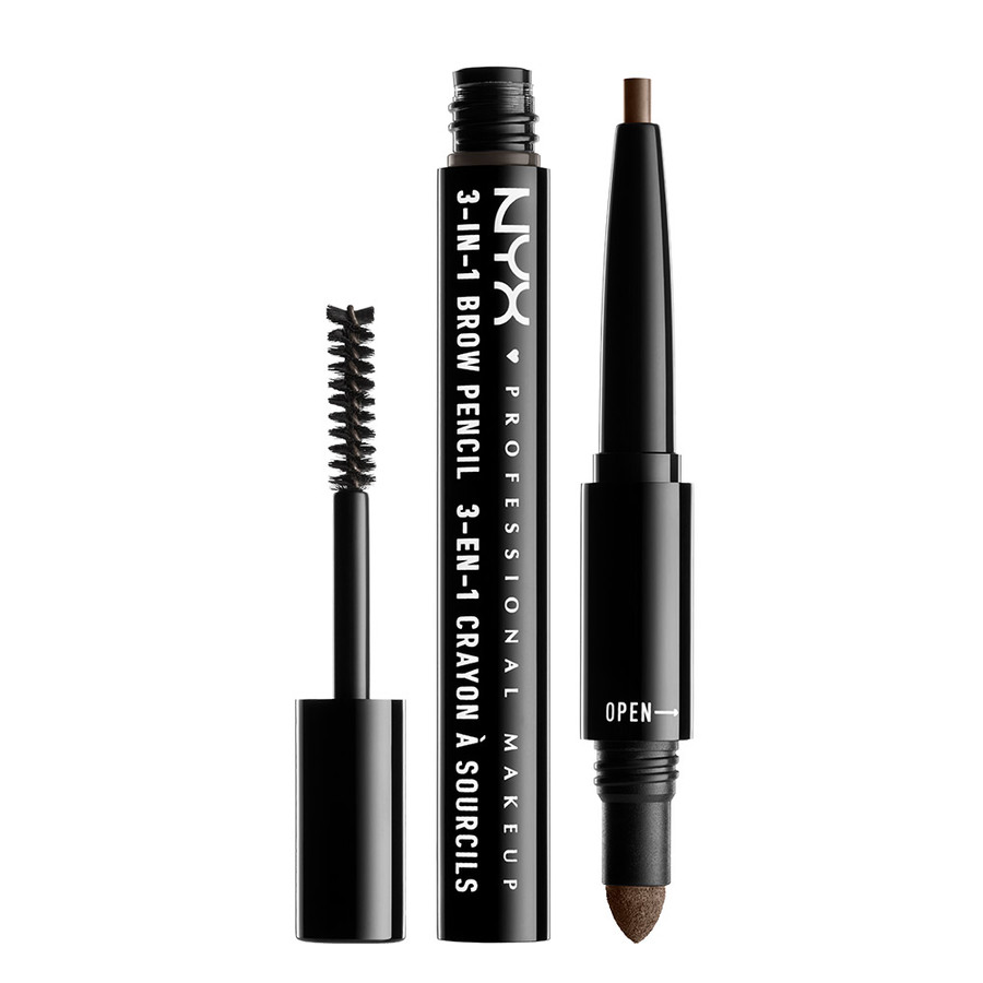 NYX Professional Makeup 3-In-1 Brow – Ash Brown 31B08