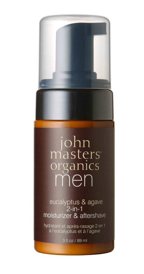 John Masters Organics Men Eucalyptus & Agave 2-in-1 Moisturizer & Aftershave 89 ml