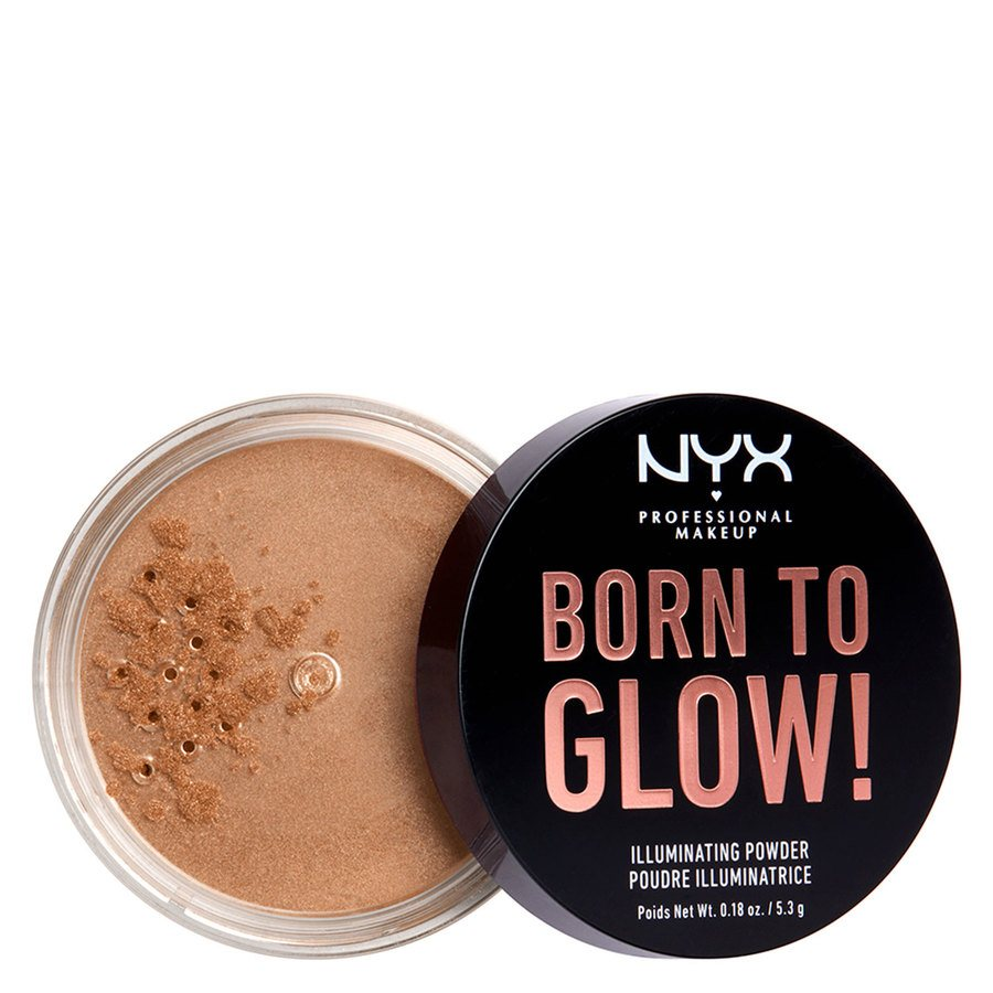 NYX Professional Makeup Born To Glow Illuminating Powder 5,3g - Warm Strobe