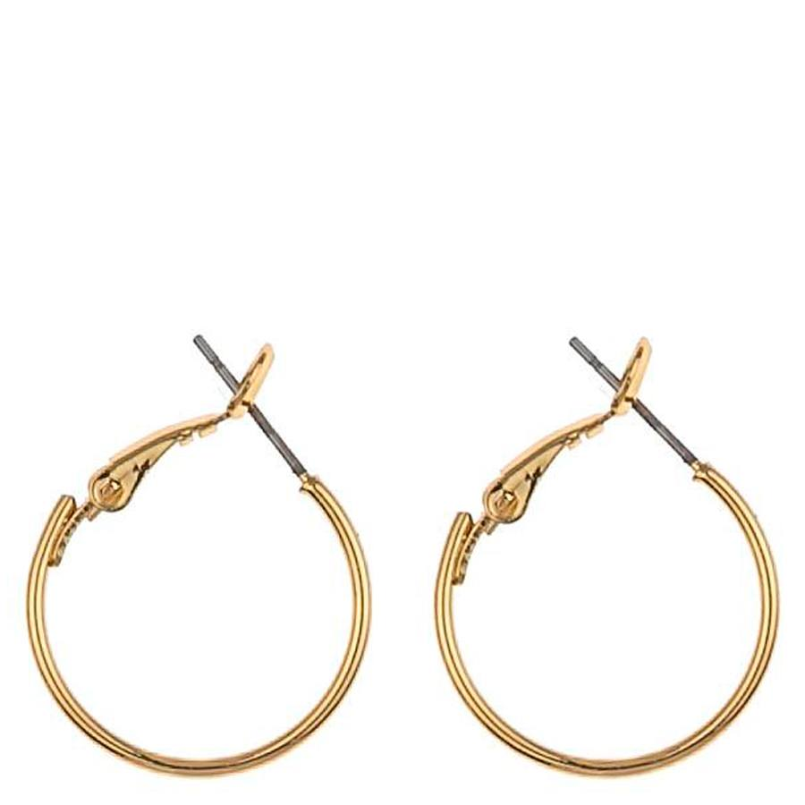 Snö Of Sweden Mystic Small Ring Earring 20 mm Plain Gold