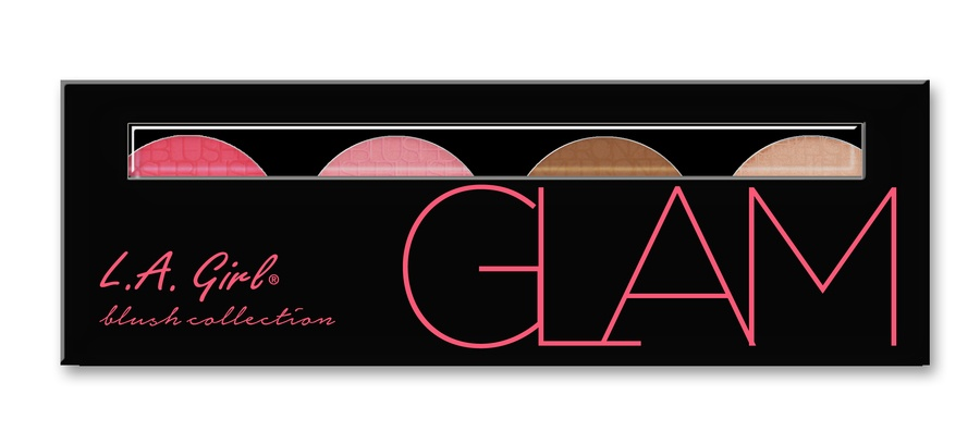 L.A. Girl Cosmetics Blush Collection - Glam GBL574