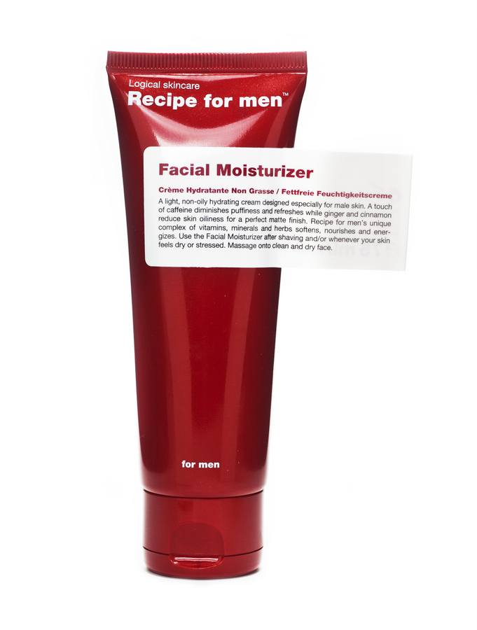 Recipe For Men Facial Moisturizer 75 ml