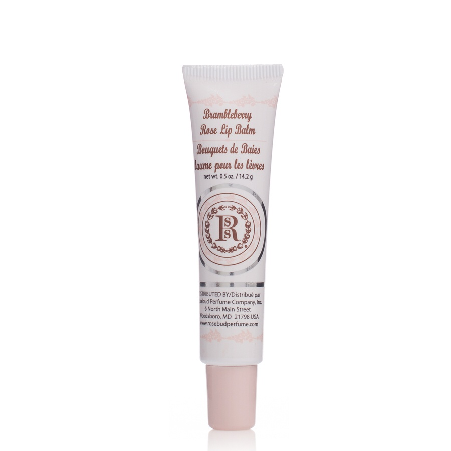 Rosebud Brambleberry Rose Lip Balm Tube 15 ml