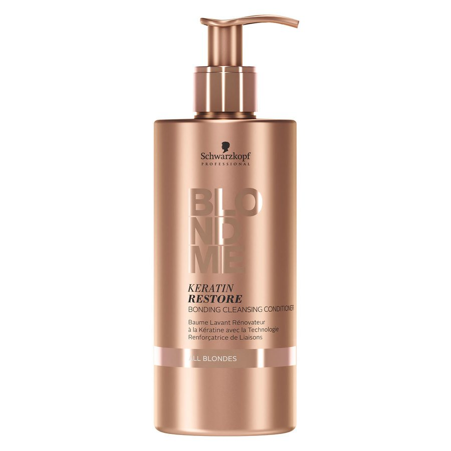Schwarzkopf Blondme Keratin Restore Bonding Cleansing Conditioner 500 ml