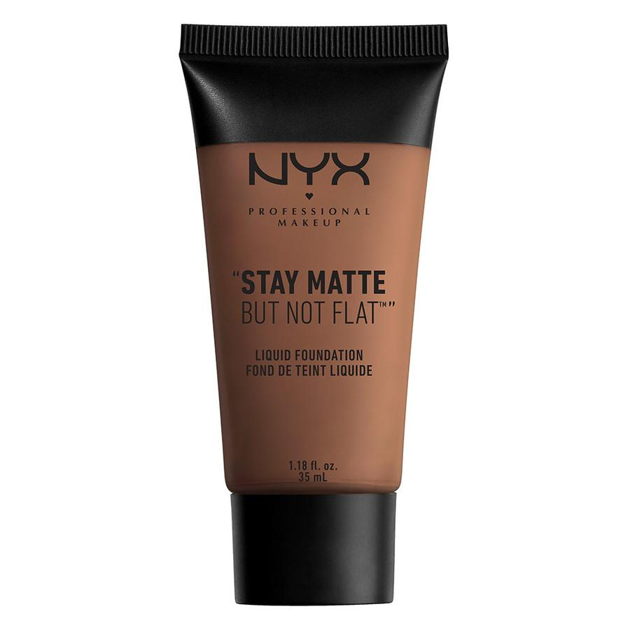 NYX Professional Makeup Stay Matte But Not Flat Liquid Foundation 35ml – Cocoa