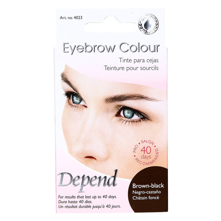 Depend Eyebrow Colour Kit - Brown-Black