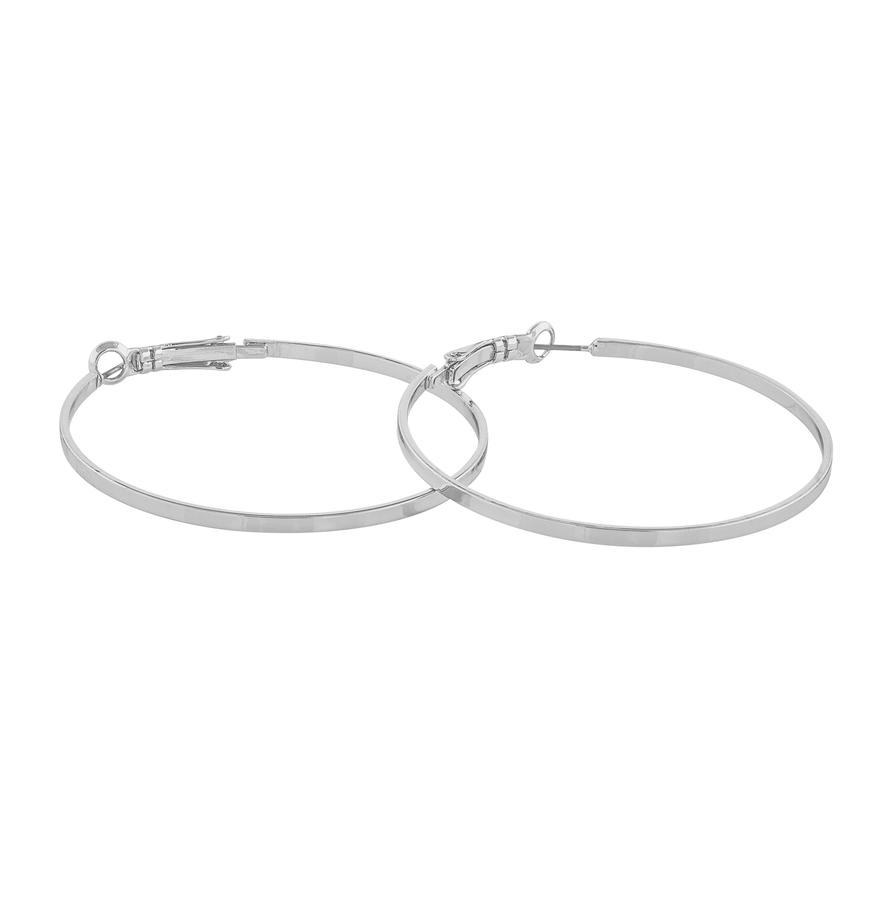 Snö Of Sweden Moe Ring Earring - Plain Silver