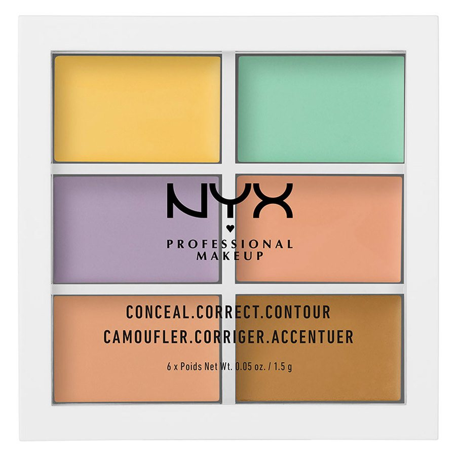 NYX Professional Makeup Color Correcting Palette 1,5 g x6