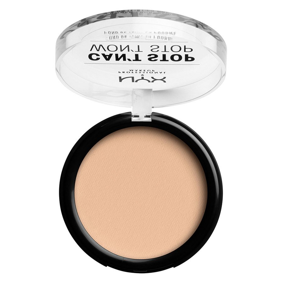 NYX Professional Makeup Can't Stop Won't Stop Powder Foundation #06 Vanilla 10,7g