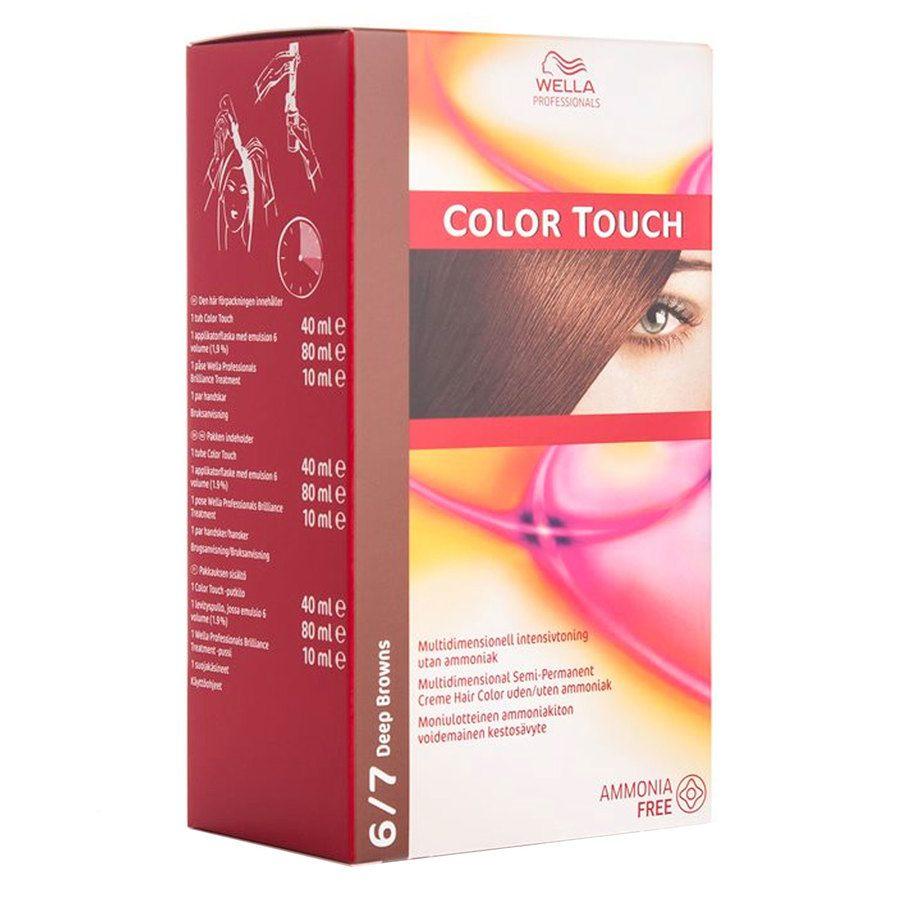 Wella Professionals Color Touch 130 ml – 6/7 Deep Browns