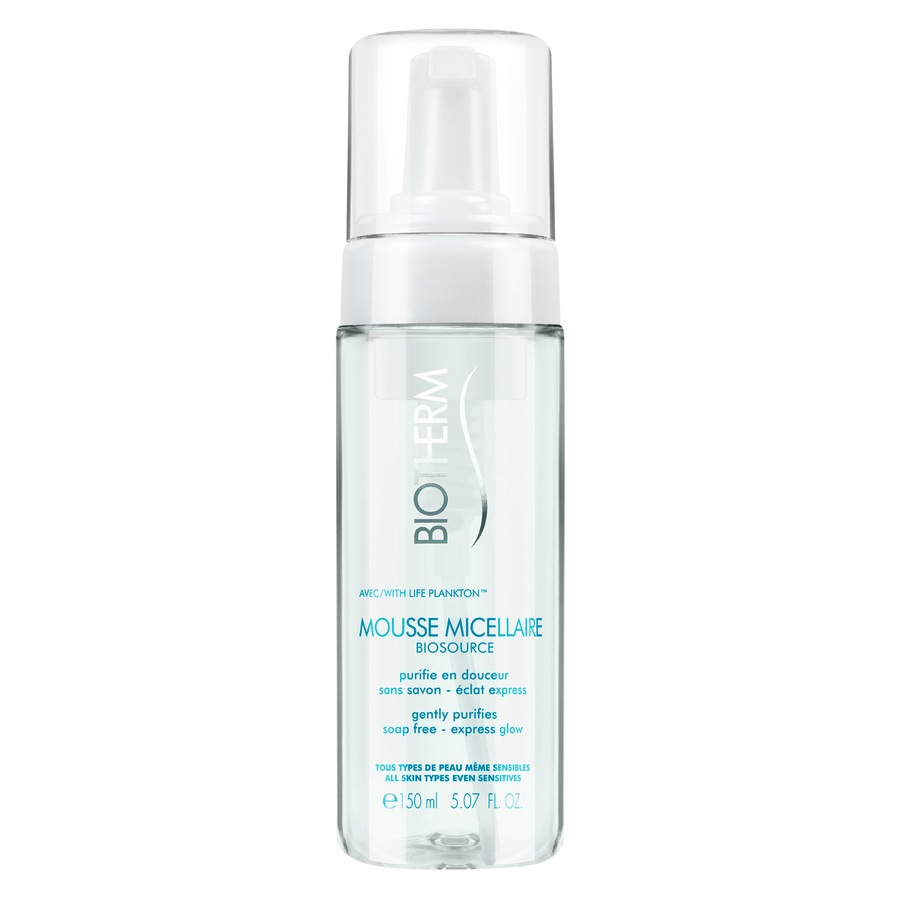 Biotherm Mousse Micellaire Cleanser Gently Purifies 150 ml