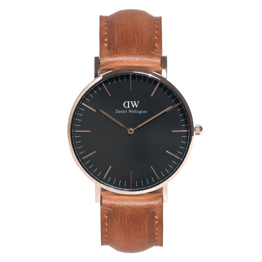 Daniel Wellington Classic Black Durham Rose Gold 36 mm DW00100138