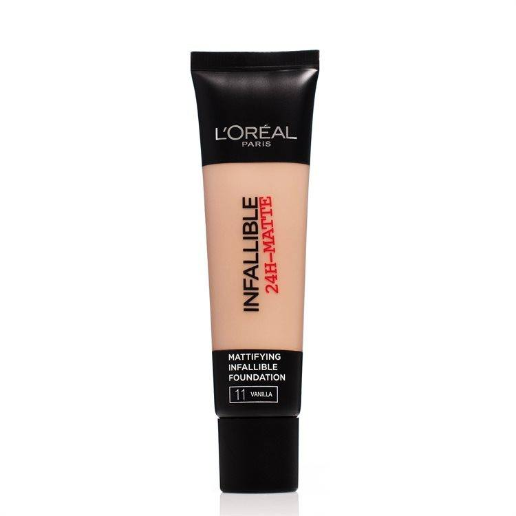L'Oréal Paris Infallible 24h Matte Foundation 30 ml – 11 Vanilla