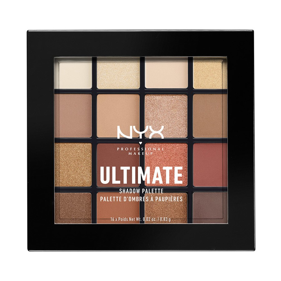 NYX Prof. Makeup Ultimate Eyeshadow Palette – Warm Neutrals USP03 13,3g
