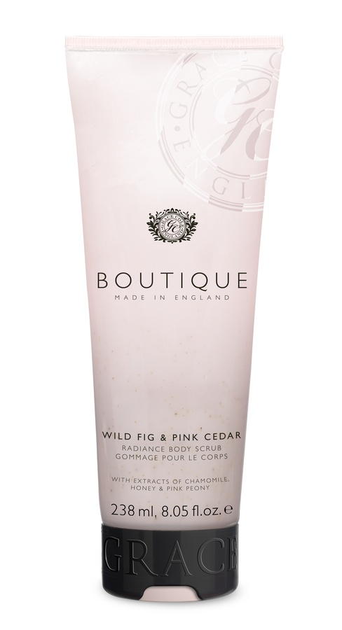 Grace Cole Boutique Body Scrub 238 ml – Wild Fig & Pink Cedar