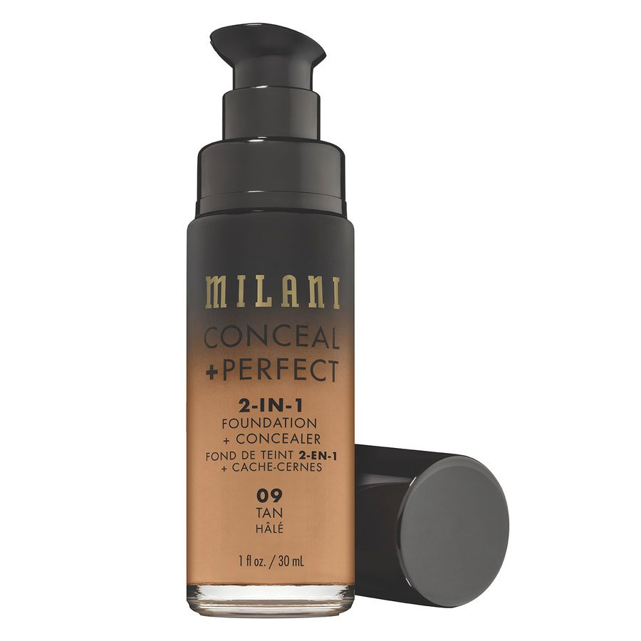 Milani Conceal + Perfect 2-In-1 Foundation + Concealer 30ml – 09 Tan