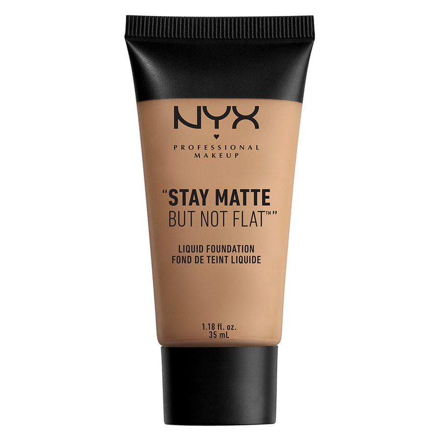 NYX Professional Makeup Stay Matte But Not Flat Liquid Foundation 35 ml – Sienna