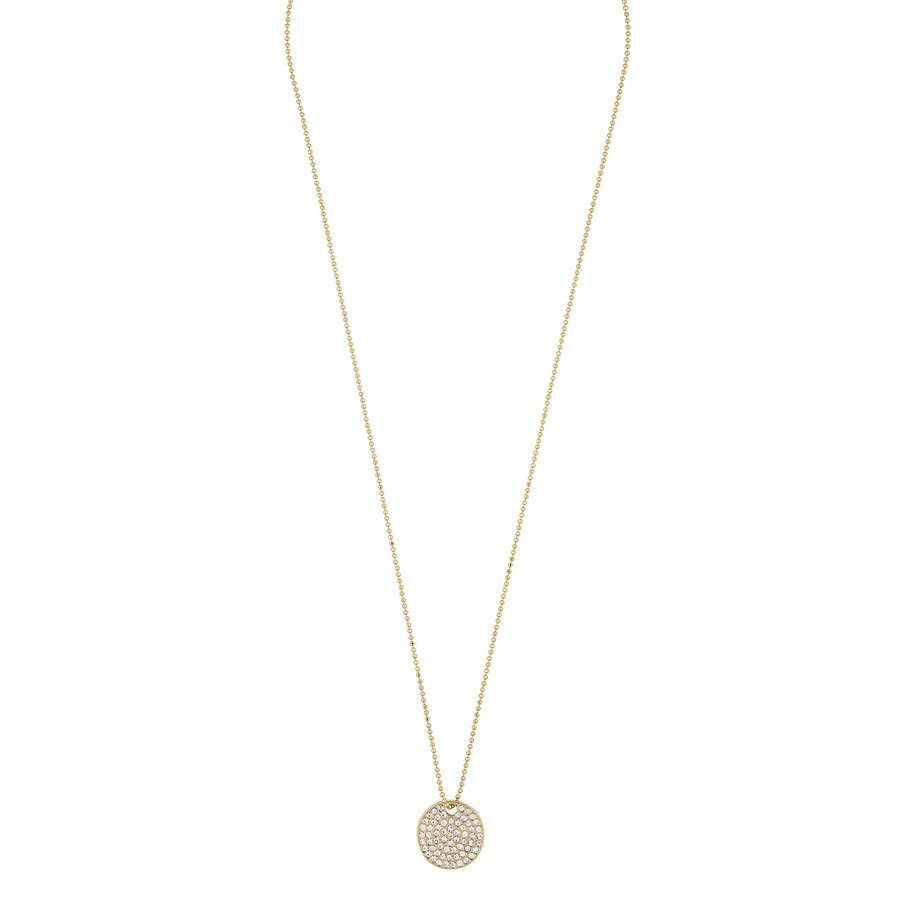 Snö of Sweden Corinne Pendant Necklace 42 cm - Gold/Clear
