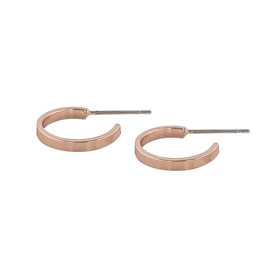 Snö Of Sweden Moe Ring Earring - Rosé 15 mm
